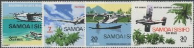 Samoa SG345-8 Aircraft set of 4